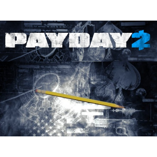 PAYDAY 2 John Wick'sPen Melee Weapon DLC (Steam Global Key/ Instant Delivery)