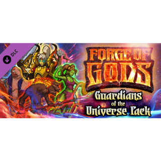 Forge of Gods: Guardians of the Universe Pack DLC (Global Steam Key/ Instant Delivery)