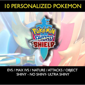 Bundle | Custom Shiny Pokemon 10x