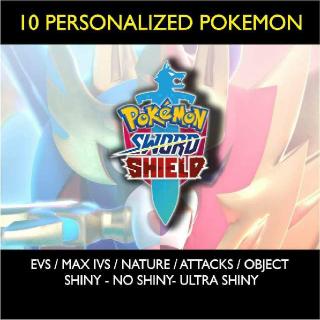 Other | Custom Shiny Pokemon 10x