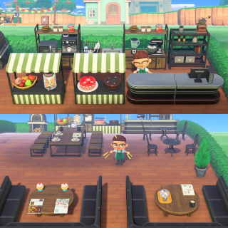 Furniture | OUTDOOR CAFE 80 ITEMS