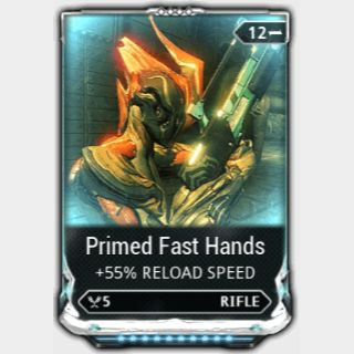 Mod   Primed Fast Hands Maxed