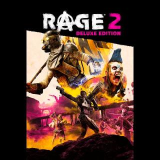 The RAGE 2: Deluxe Edition +PreOrder Bonus (Xb1 Code) instant