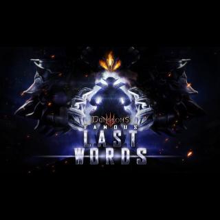 Dungeons 3! + Famous Last Words (Xb1 Code) instant