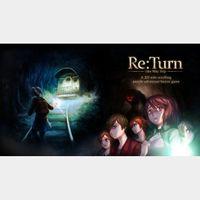 ReTurn - One Way Trip (Steam Global Key) instant