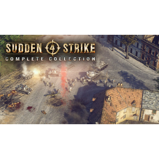 Sudden Strike 4 Complete Collection (Xb1 Code) instant