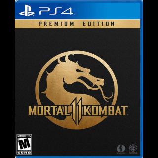 Mortal Kombat 11 premium edition (PS4 EU Code)  instant
