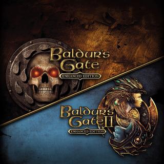 Baldur's Gate and Baldur's Gate II: Enhanced Editions (Xb1 Code) instant
