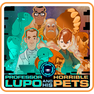Professor Lupo and his Horrible Pets (Switch USA Code) instant