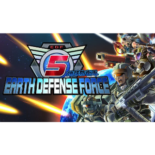 EARTH DEFENSE FORCE 5 (Steam Global key) instant