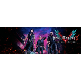 Devil May Cry 5 - Deluxe Edition (PS4 Euro Code) Instant
