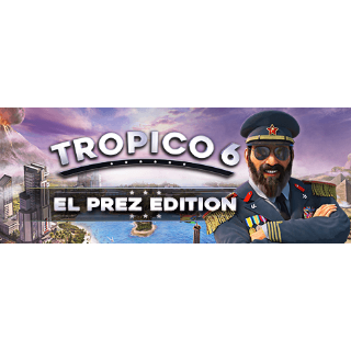 Tropico 6 El Prez PreOrder edition (Steam Key GLOBAL) Instant