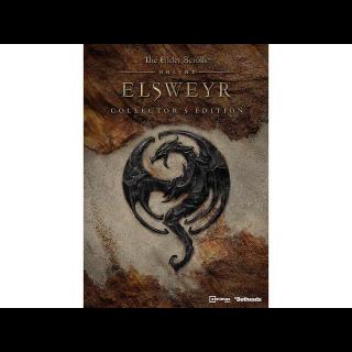 Elder Scrolls: Elsweyr Collector's Edition (PS4 Eu Code) instant
