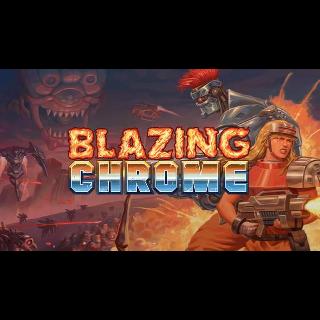Blazing Chrome(Xbox One Code) instant