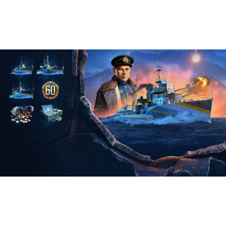 World of Warships: Legends - Ultimate Edition (XB1 region free Code) instant