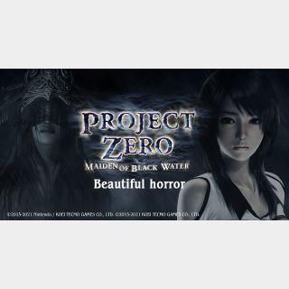 Project Zero Maiden of Black Water (PS4/PS5 Europe code) instant