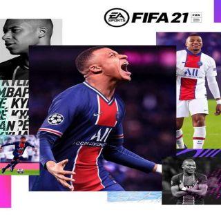 FIFA 21 - Sony PlayStation 4, 5, PS4, PS5 - Full Game Key - Region: 2 - EU