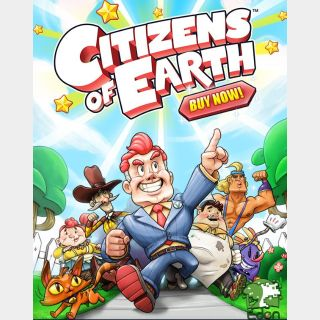 Citizens of Earth 3DS Key