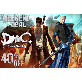DmC: Devil May Cry AND Vergil's Downfall DLC Steam Key