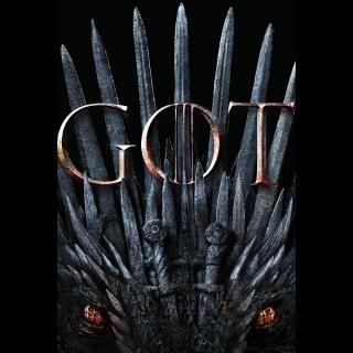 Game of Thrones: The Complete Eighth Season Digital Code ( Vudu Code )