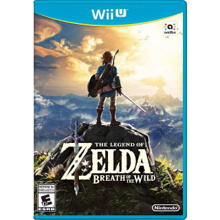 The Legend of Zelda: Breath of the Wild - Nintendo Wii U [Digital]