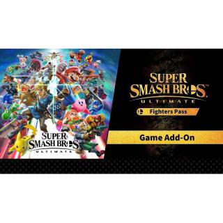 Super Smash Bros. Ultimate Fighter Pass - Nintendo Switch [Digital]