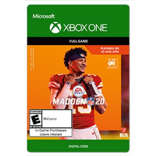 MADDEN NFL 20, EA Sports, Xbox, [Digital Download]