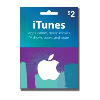 $2 iTunes Apple Store Gift Card Instant Delivery