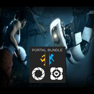 Portal + Portal 2 Bundle - Steam - INSTANT