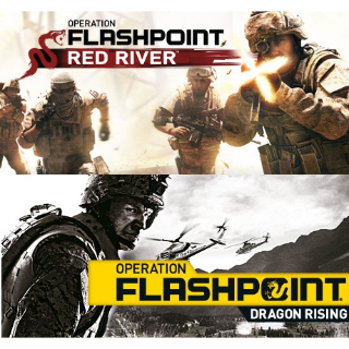 Operation Flashpoint Red River + Dragon Rising Bundle - Steam - INSTANT