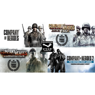 "Company of Heroes ""Complete"" + More - Steam - INSTANT"