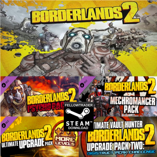 Borderlands 2 + 4 DLCs - Steam - INSTANT