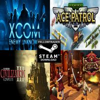 XCOM, Pirates, Ace Patrol, & Civilization III - LINK