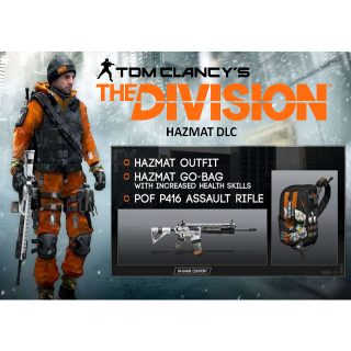 Tom Clancy's The Division Hazmat DLC - Uplay Key - INSTANT DELIVERY