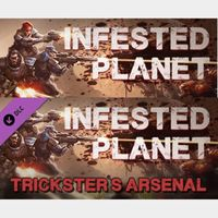 Infested Planet + Trickster's Arsenal DLC - INSTANT