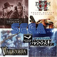 Sega Bundle! Warhammer 40000 Dawn II, Shogun 2, Valkyria Chronicles, Eastside Hockey