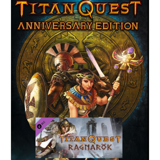 Titan Quest: Anniversary Edition + Ragnarok DLC - Steam - INSTANT DELIVERY