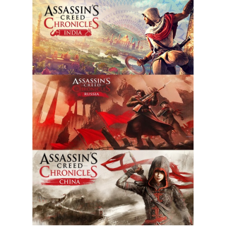 Assassin's Creed Chronicles India, Russia, & China - Uplay Keys - INSTANT DELIVERY