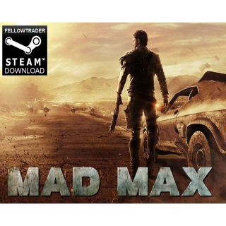 Mad Max - Steam - PC + Mac - INSTANT DELIVERY