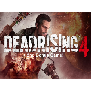 Dead Rising 4 + Free Game - Steam - INSTANT DELIVERY