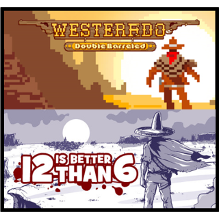 Westerado Double Barreled + 12 Is Better Than 6 - Steam - INSTANT