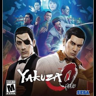 Yakuza 0 - Steam - INSTANT