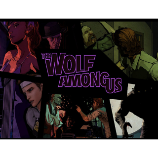 The Wolf Among Us Telltale - Steam - PC + Mac - INSTANT DELIVERY