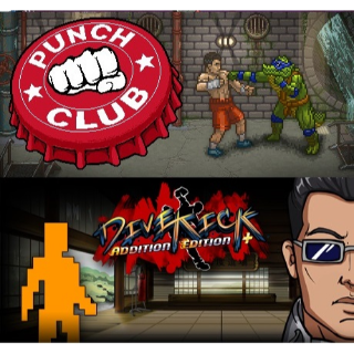 Punch Club + Divekick - Steam Bundle - INSTANT DELIVERY