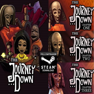 The Journey Down Chapter 1, 2, 3 - Steam - INSTANT
