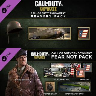 Call of Duty WWII DLC: Endowment Bravery & Fear Not Packs