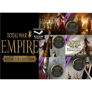 EMPIRE Total War Definitive Edition - Steam - PC/Mac - INSTANT DELIVERY