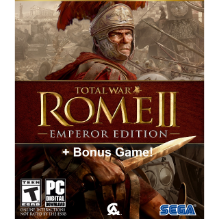 Total War Rome 2 II Emperor Edition + FREE Game - PC/Mac - INSTANT DELIVERY
