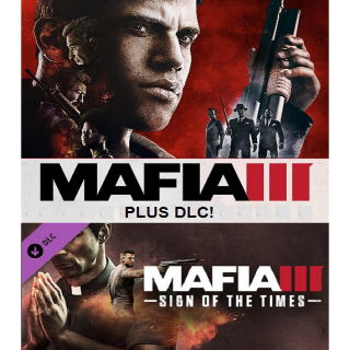Mafia III + Sign of the Times DLC - Steam - INSTANT