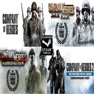 "Company of Heroes ""Complete"" + More - INSTANT"